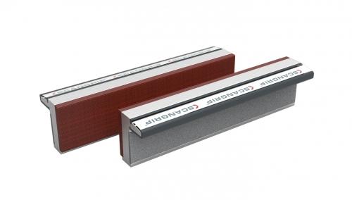 Magnetické ochranné hliníkové vložky Magnefix F-fiber 160mm