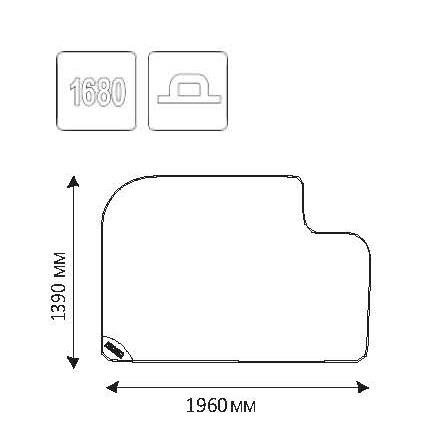 Ridgid Ochranná montážna podložka