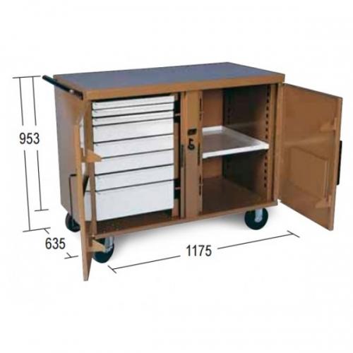 Ridgid Storagemaster 49 (pojazdný)