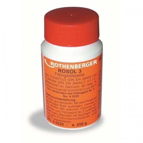 Rothenberger pasta ROSOL 3, Sn97Cu3 250g