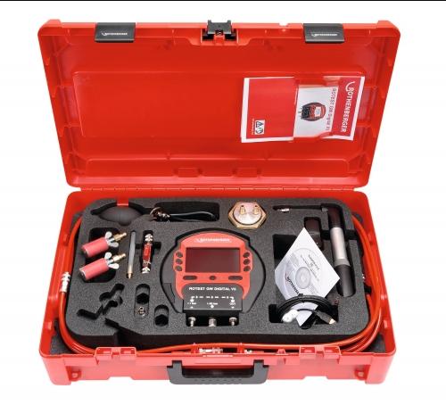 Rothenberger rotest GW Digital V3 - Set na meranie tesnosti plynu
